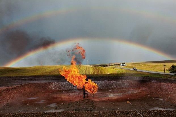 Gaz de schiste septembre 2013 dans o) GAZ DE SCHISTE 1-feu-22096